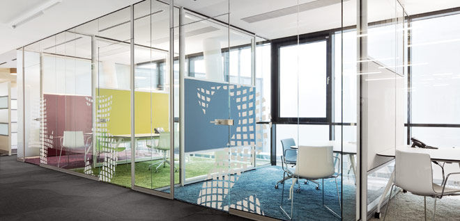 Mamparas de cristal para oficinas y coworkings blog for Mamparas cristal oficina