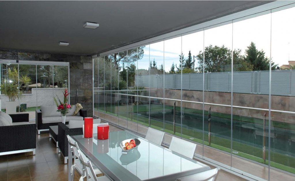 cortinas de cristal en valencia