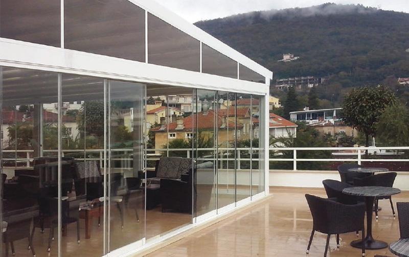 cortinas de cristal para restaurantes en valencia