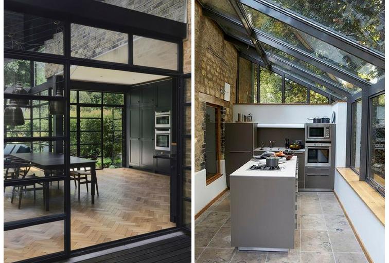 Cerramos la terraza para una cocina de ensue o blog for Cocinas en terrazas
